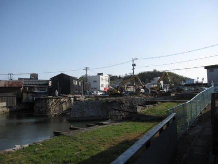 港橋上流側?2010年3月16日
