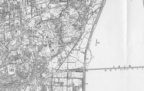 倉敷市遺跡地図[乙島]