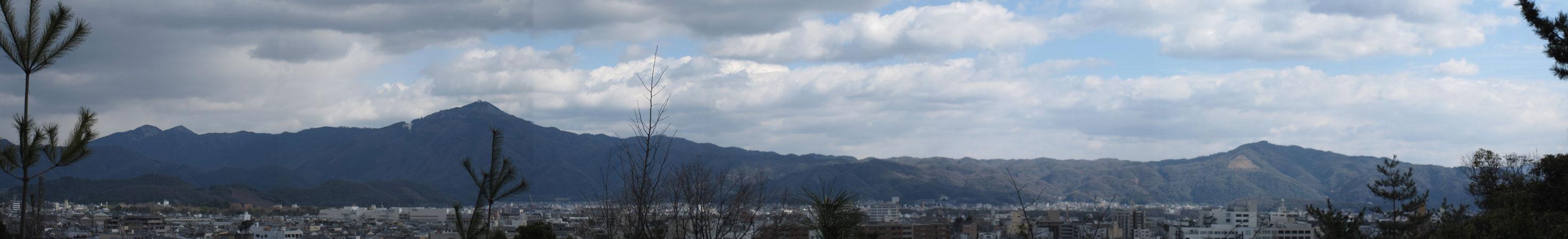 船岡山よりパノラマ②