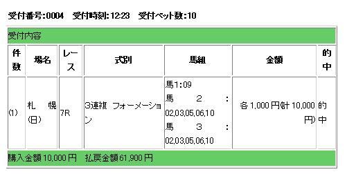 8・9札幌7Rf