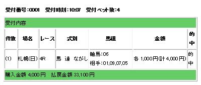 8・9札幌4R