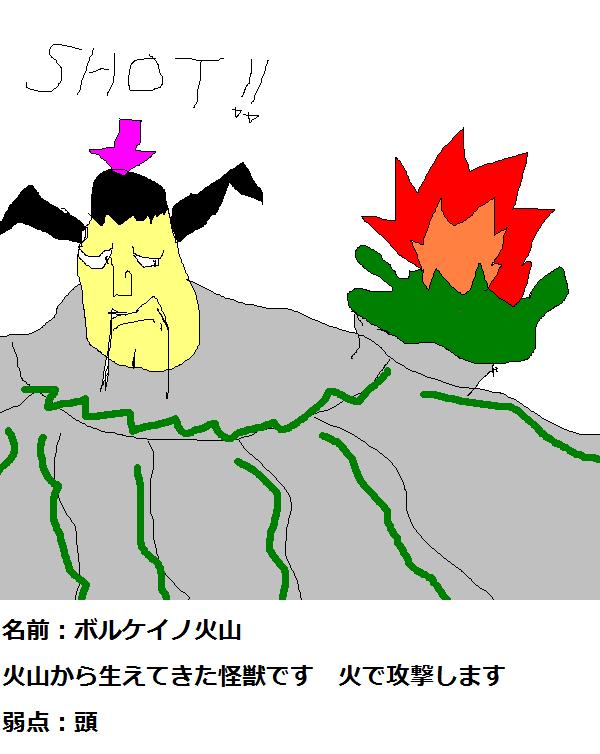火山ボルケイノ