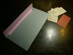 リバーシブルの紙