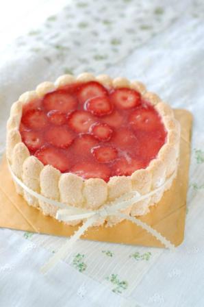 苺のシャルロット