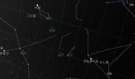 夏の大三角形 2011 (By Google Sky Map)