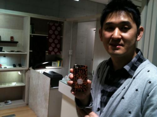 i phone カバー 記念写真