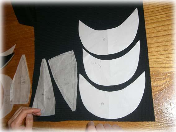 ハンチング型紙