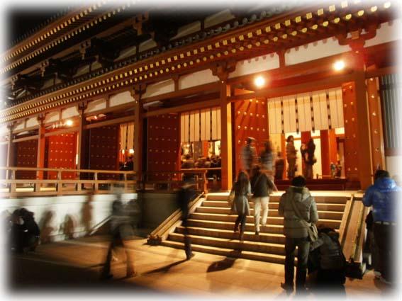 薬師寺初詣