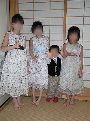 姪甥結婚式衣装