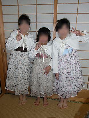 姪結婚式衣装ボレロ