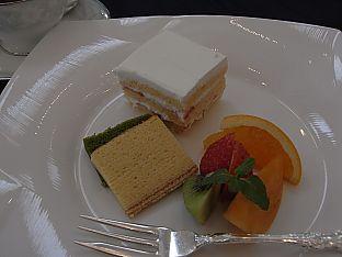 ケーキとバーム