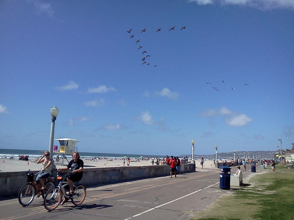 カリフォルニアビーチ1