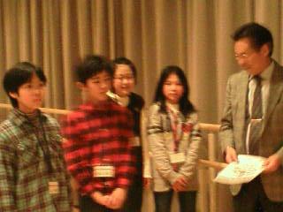 岡崎市長さんからエールをいただきました