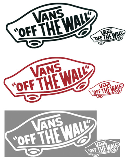 VANS STICKER DIRCUT