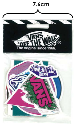 VANS STICKER PACK