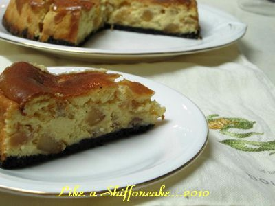apple caramel cheese cake2