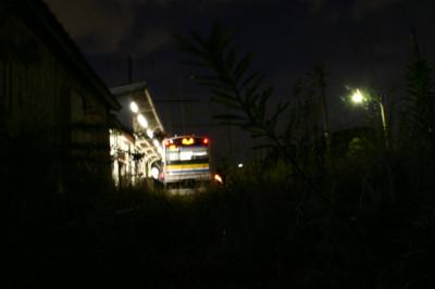 大川駅でのひとコマ