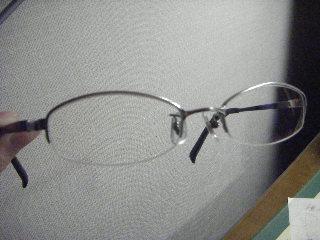 直ったメガネ