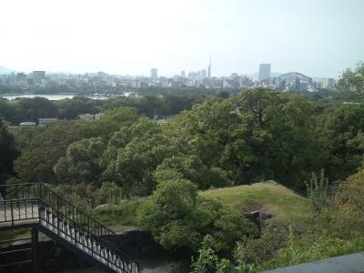 福岡城展望台からの景色