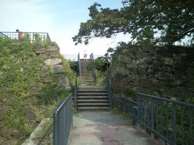 福岡城・本丸跡展望台