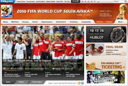 ワールドカップ南アフリカ大会