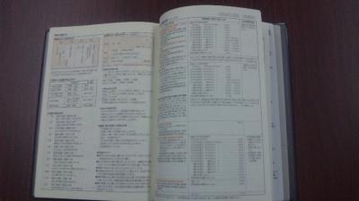 手帳の中身②