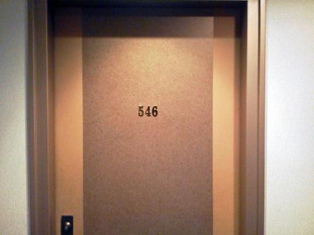 スーパーボックス入口ドア