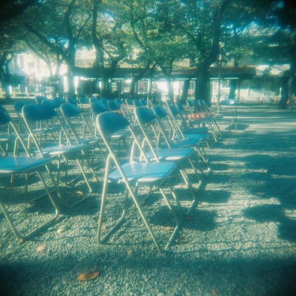靖国パイプ椅子