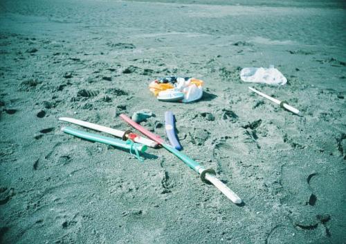 海岸のおもちゃ