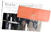 Stola.(ストラ)2011 秋 公式カタログGETしました! 2011年秋の新作、ルーニィのテレビCM放送も2011秋versionが9月放送予定!ルーニィマニアのみなさん、またまた要チェックです!^^☆