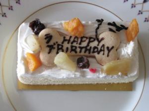 ラブ1歳誕生日