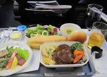 機内食洋食