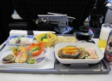 機内食和食