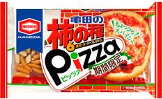 柿の種ピザ
