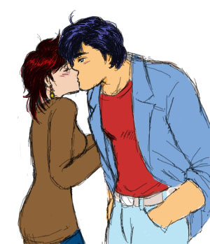 誓いのキス再び?