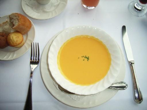 キャロットのスープ