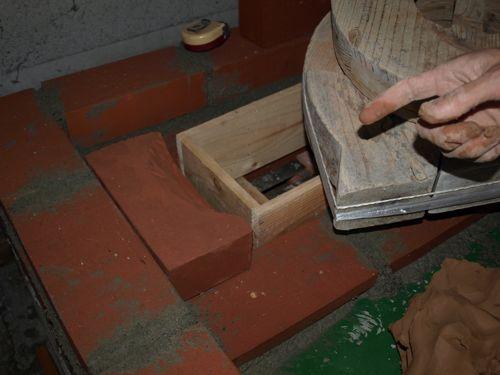 3木枠に木型