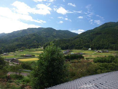 9屋根から絶景