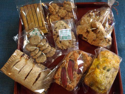 2010秋のお菓子セット