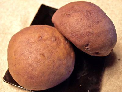 1紫芋のスコーンパン
