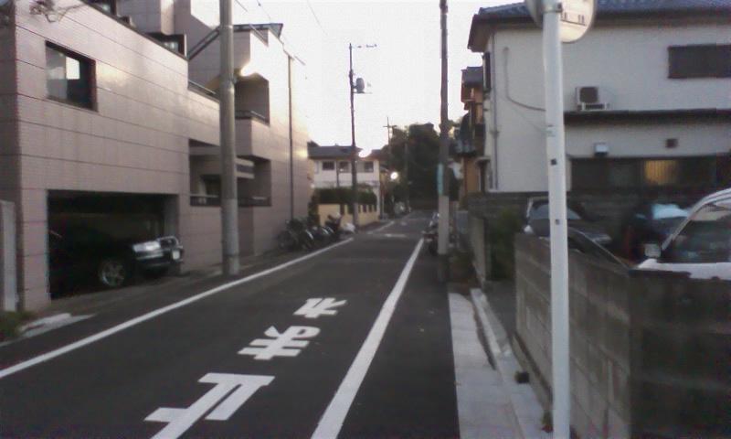 道順⑩ はい、この通りを進んでいくと―