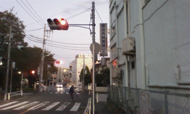 道順⑦ 菊池外科病院の前を通り過ぎ―