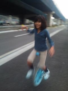 愛 一輪車