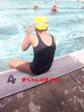 毎日よく泳ぐね?