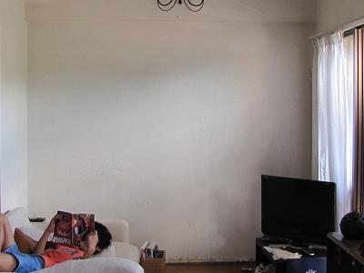 リビングの壁