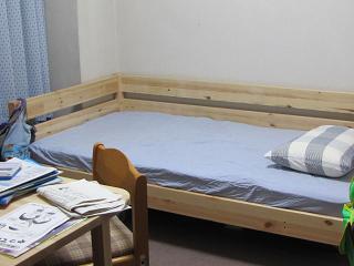 楓のベッド