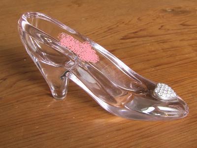 愛のガラスの靴