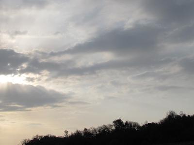 3/23朝の空