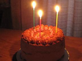 Kanaの誕生日ケーキ