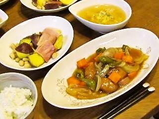 酢豚とイロイロ